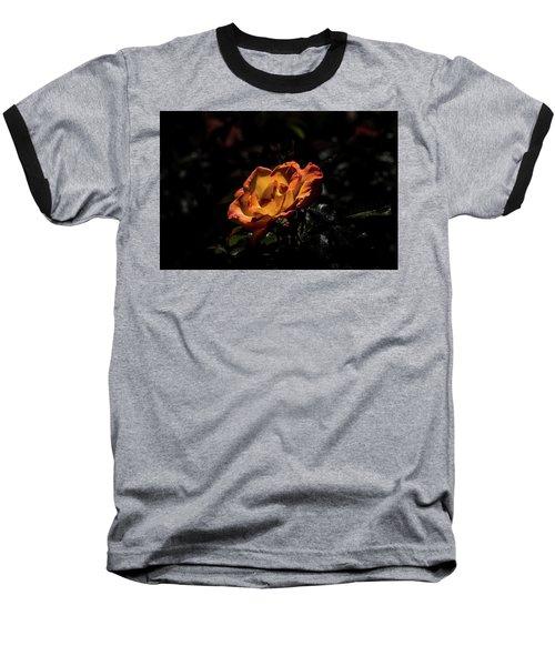 Yellow And Orange Baseball T-Shirt by Jay Stockhaus