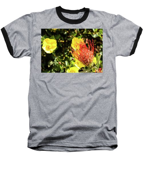 Yellow And Red Baseball T-Shirt