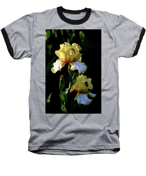 Yellow And White Irises 6681 H_2 Baseball T-Shirt