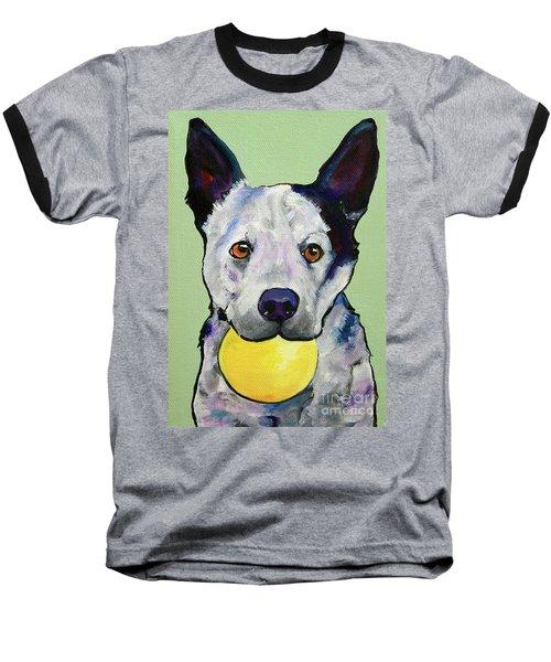 Yellow Ball Baseball T-Shirt