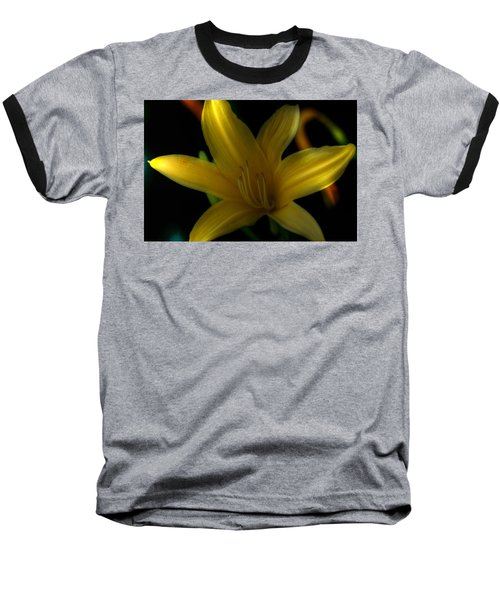 Yellow Beckoning Baseball T-Shirt