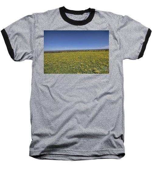 Baseball T-Shirt featuring the photograph Yellow Blanket II by Douglas Barnard