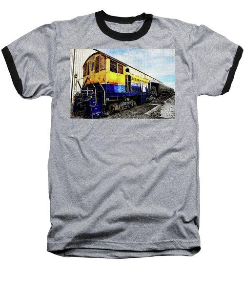 Yellow/blue Birmingham Baseball T-Shirt