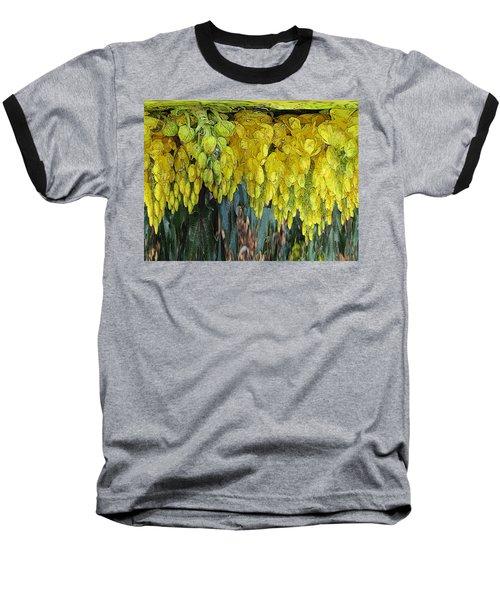 Yellow Buds Baseball T-Shirt by Tim Allen