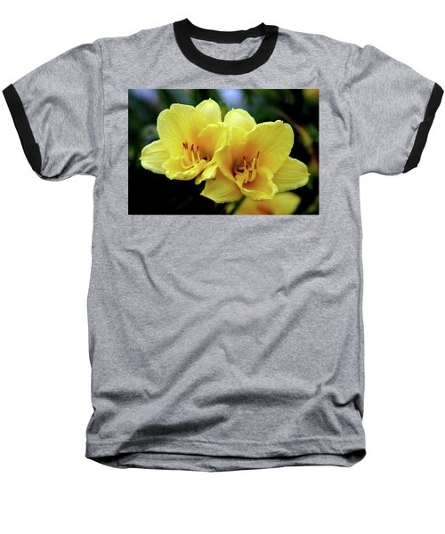 Yellow Daylilly 0204 H_2 Baseball T-Shirt