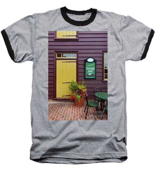 Yellow Door In Annapolis Baseball T-Shirt