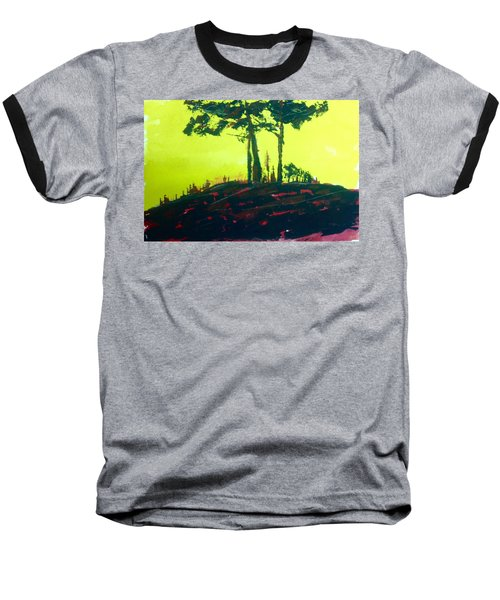 Yellow Dusk Baseball T-Shirt