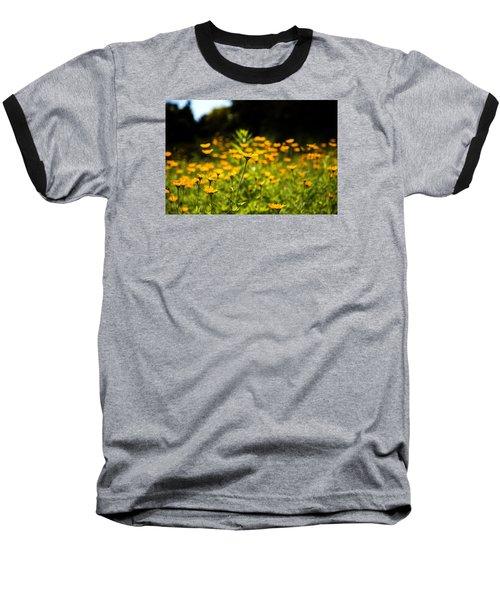 Yellow Field Baseball T-Shirt