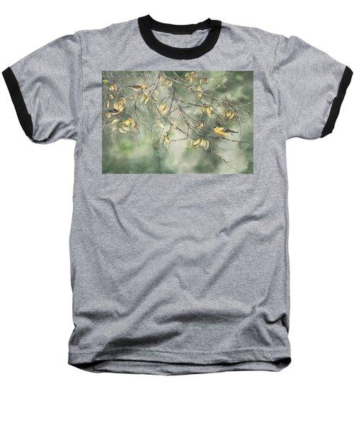 Yellow Finch Baseball T-Shirt