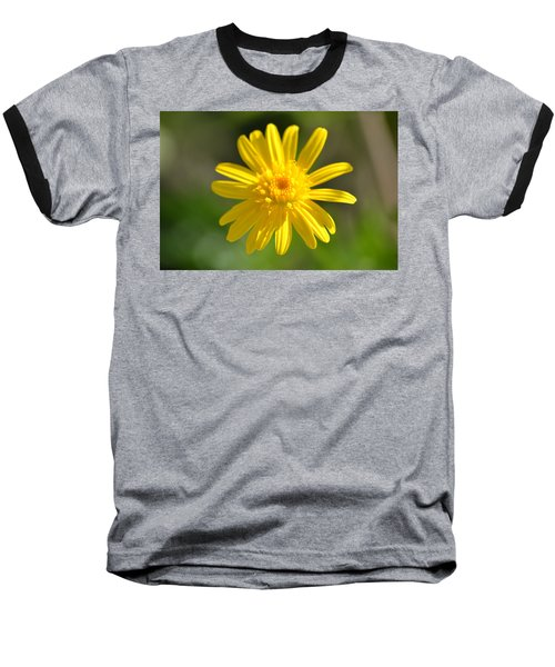 Yellow Fireworks Baseball T-Shirt