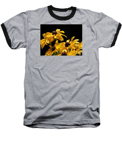 Yellow Flower 2 Baseball T-Shirt