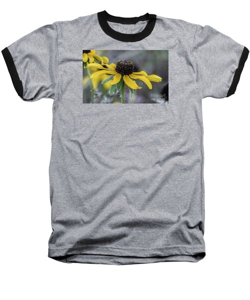 Yellow Flower 6 Baseball T-Shirt