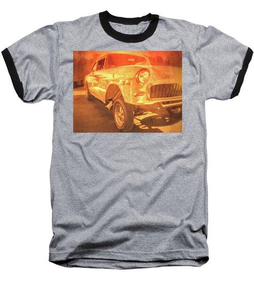 Yellow Gasser Baseball T-Shirt