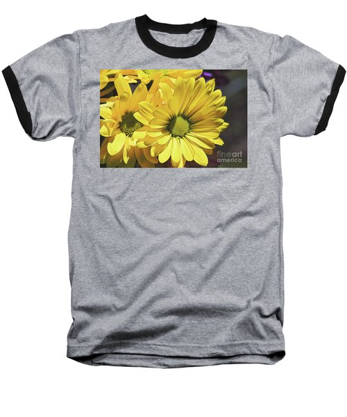 Yellow Gerbera Baseball T-Shirt