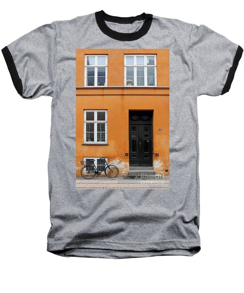 The Orange House Copenhagen Denmark Baseball T-Shirt