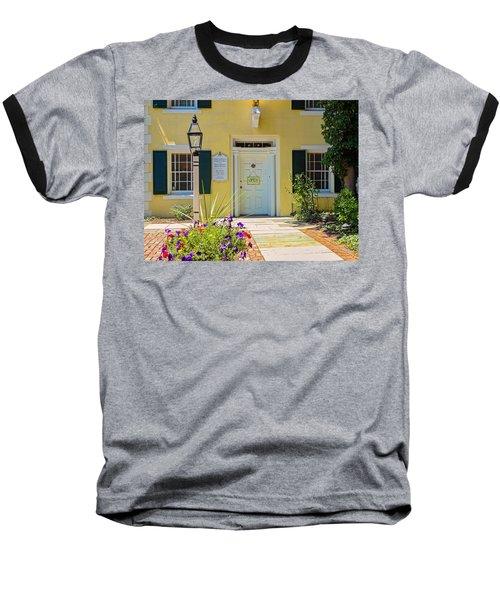Yellow House In Kingston Baseball T-Shirt