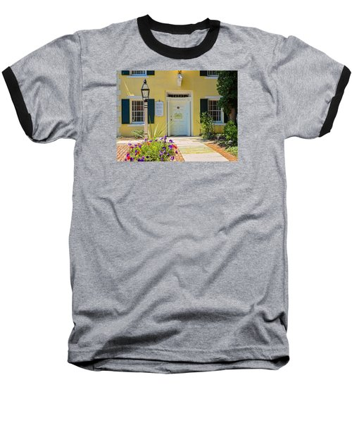 Yellow House In Kingston Baseball T-Shirt
