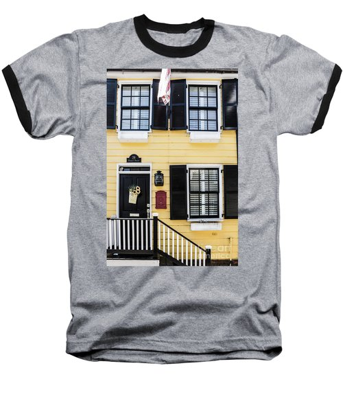 Yellow House Baseball T-Shirt