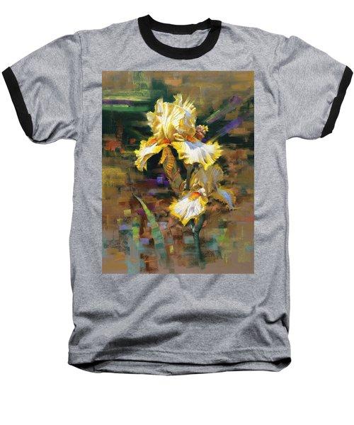 Yellow Iris II Baseball T-Shirt