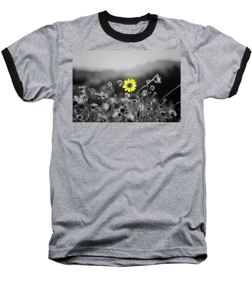 Yellow Is The Color Baseball T-Shirt