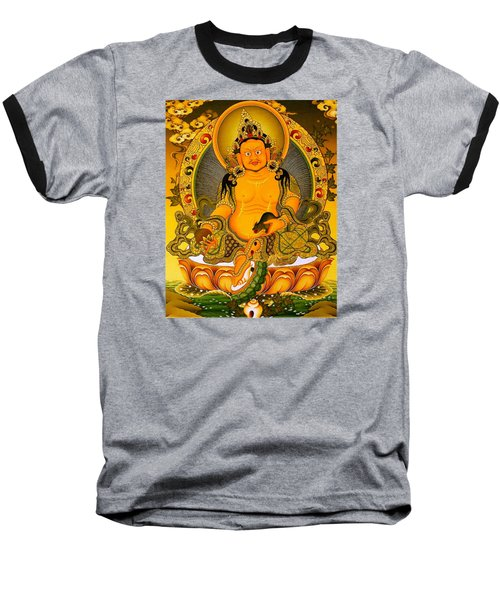Yellow Jambhala 3 Baseball T-Shirt