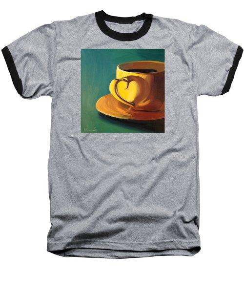 Yellow Java Baseball T-Shirt