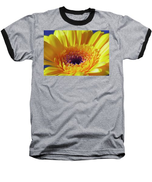 Yellow Joy And Inspiration Baseball T-Shirt