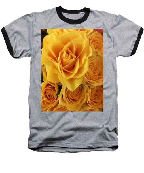 Yellow Joy Baseball T-Shirt