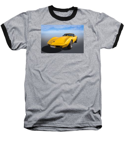 Baseball T-Shirt featuring the photograph Yellow by Keith Hawley