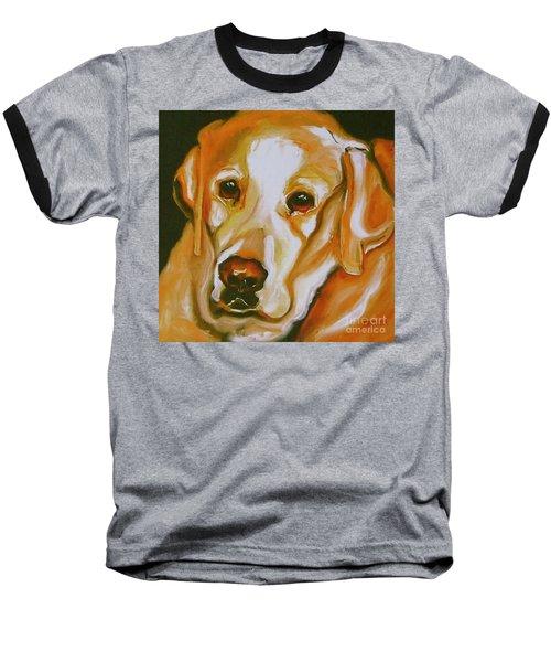 Yellow Lab Amazing Grace Baseball T-Shirt