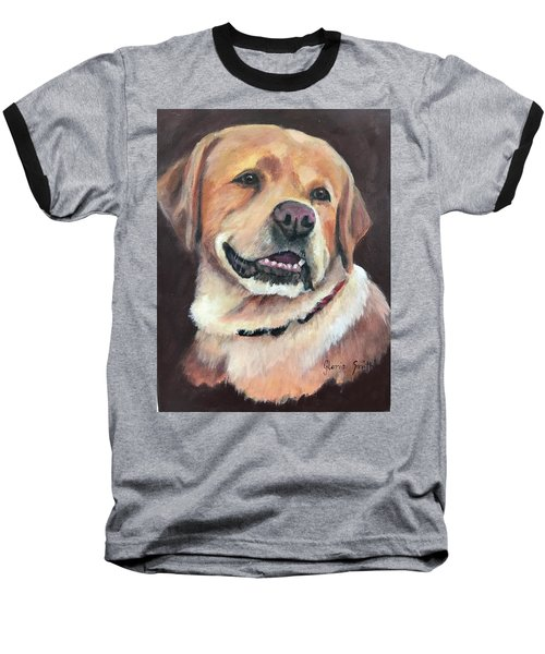 Yellow Lab Baseball T-Shirt
