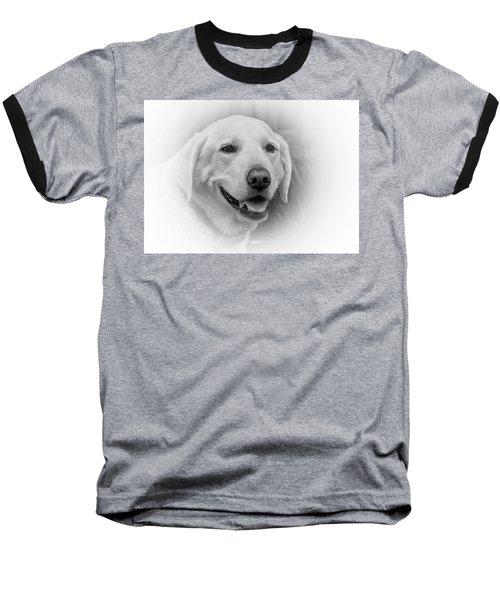 Yellow Labrador Baseball T-Shirt