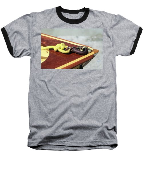 Yellow Line Baseball T-Shirt