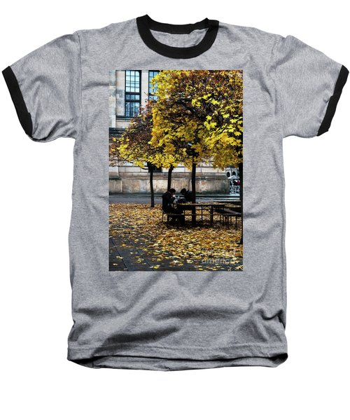 Yellow Lunch Baseball T-Shirt