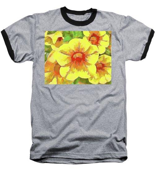 Yellow Million Bells Baseball T-Shirt