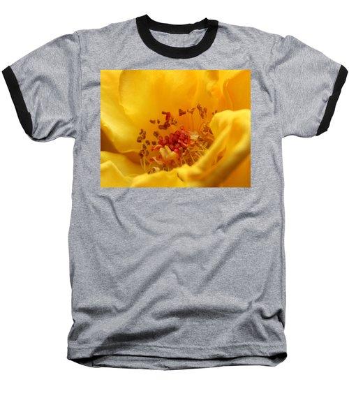 Yellow Mini Macro Baseball T-Shirt