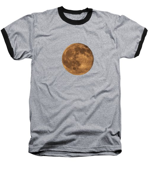 Yellow Moon Baseball T-Shirt