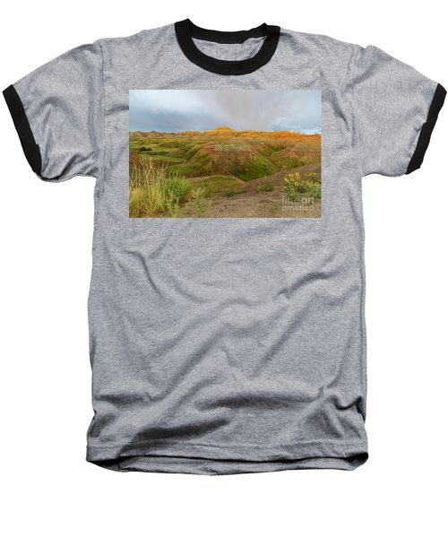Yellow Mounds Morning Baseball T-Shirt