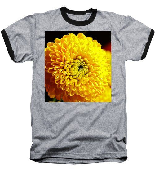 Yellow Mum Baseball T-Shirt