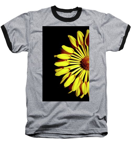 Yellow Petals Baseball T-Shirt
