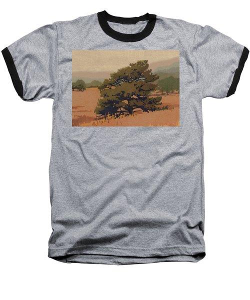 Yellow Pine Baseball T-Shirt by Dan Miller
