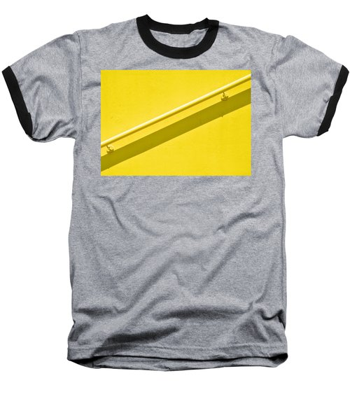 Yellow Rail Baseball T-Shirt