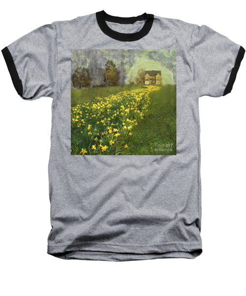 Yellow River To My Door Baseball T-Shirt