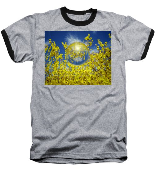 Baseball T-Shirt featuring the photograph Yellow by Robert Geary