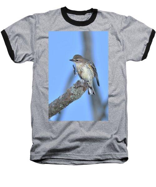 Yellow-rumped Warbler Itch Baseball T-Shirt