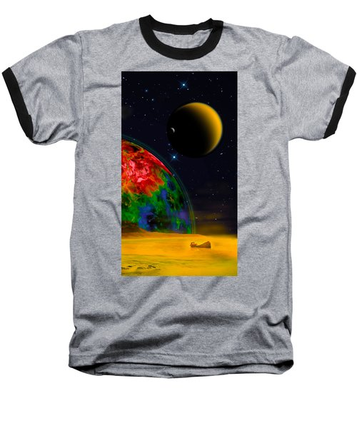 Yellow Sea On Kepler 186d Baseball T-Shirt