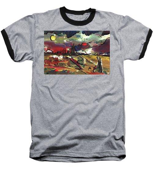 Yellow Sun Baseball T-Shirt