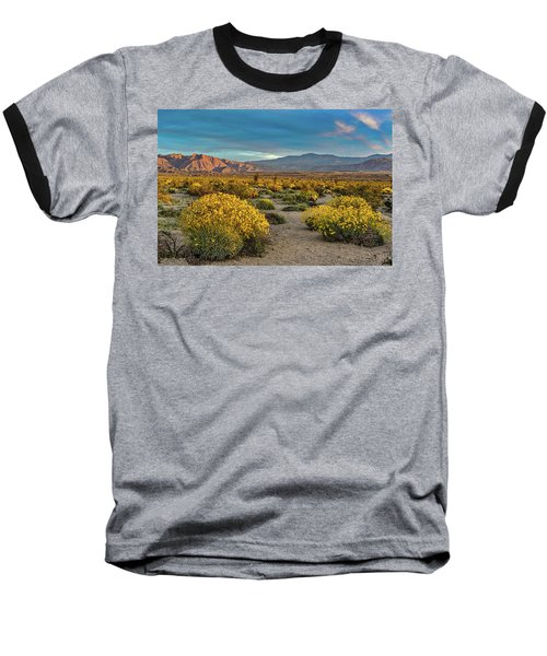 Baseball T-Shirt featuring the photograph Yellow Sunrise by Peter Tellone