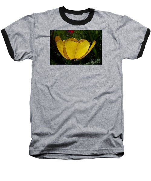 Yellow Tulip 2 Baseball T-Shirt