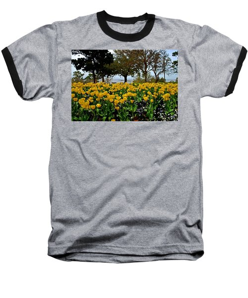 Yellow Tulips Of Fairhope Alabama Baseball T-Shirt